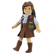 """18 Inch Doll Clothes Like Brownie Girls Club Outfit   Fits 18"""" American Girl Dolls   Gift-boxed!"""