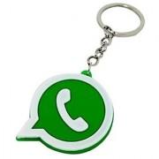 Whatsapp Rubber Keychain f