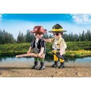 Playmobil Duo Pack Ranger y Cazador Furtivo
