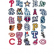 MLB Complete Baseball Sticker Set (50 Stickers) w/ 20 Extras. Dodgers Yankees Mets World Series Champions Cubs Red Sox Giants Tigers Cardinals Brave Rangers White Angels Indians Pirates Astros Marlins by Baseball Stickers