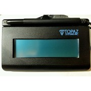 TOPAZ SIGNATUREGEM T-LBK462-HSB-R 1X5 BACKLIT LCD SIGNATURE CAPTURE PAD USB CONNECTION / RUGGED SIGNING AREA FOR LONG LIFE