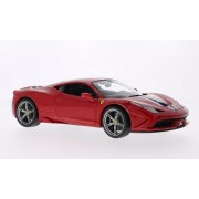 Ferrari 458 Speciale, Red, Model Car, Ready Made, Bburago 1:18