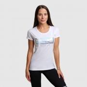 GymBeam Ženska majica Level Up White M