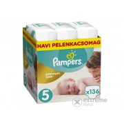 Pampers Premium Care pelene Monthly Box 5 junior, 136 kom