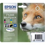 Epson T1285 Original Ink Cartridge C13T12854012 Black & 3 Colours 4 Pieces