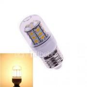 3W E26/E27 LED-maïslampen T 27 SMD 5730 200-300 lm Warm wit 2800-3500 K DC 24 V