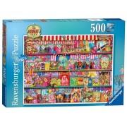 Puzzle Magazinul de dulciuri, 500 piese