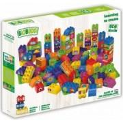 Set de constructie BioBuddi Invata sa creezi varsta recomandata 1,5 - 6 ani Multicolor