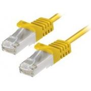 Patch kabel S/FTP 2m, Cat 6A, Bakar, Transmedia TI27-2GEL, žuta