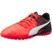 Puma Men's Evopower 4.3 Tt Red Blast, Puma White and Puma Black Football Boots - 10 UK/India (44.5 EU)