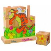 Simba My Friends Tigger and Pooh Wooden Matching Blocks