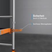 Layher Rollgerüst SoloTower 5,15m Arbeitshöhe