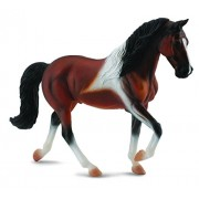 CollectA Tennessee Walking Horse Stallion, Bay Pinto