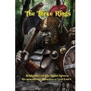 The Three Rings: An Adventure for Four Against Darkness for Characters of Level 3 and 4, Paperback/Andrea Sfiligoi