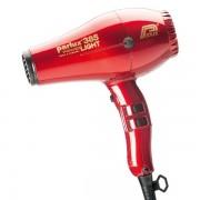 Parlux Sèche-cheveux 385 Power Light Ionic & Ceramic rouge