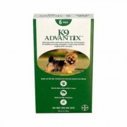 K9 Advantix Small Dogs/Pups 1-10 lbs (Green) 6 Doses
