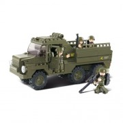 Stavebnice Sluban Army Vozidlo pro transport vojáků M38-B0301