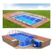 Schwimmbad-Komplettset Dallas Clear