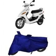 Intenzo Premium Full Blue Two Wheeler Cover for Yo Bike Yo EXL