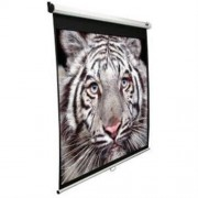 "ELITE SCREENS plátno roleta 100"" (254 cm)/ 16:9/ 124,5 x 221 cm/ Gain 1,1/ case biely/ 24"" drop"