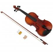 ER Madera De Abeto Astonvilla 4/4 Violín Luz Laca Fiddle 4 Instrumento De Cuerda -Madera