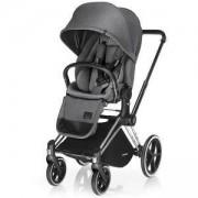 Бебешка количка Cybex Priam Lux Seat Manhattan Grey 2017, 517000237