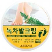 LEBELAGE «Green Tea Foot Cream» Крем для ног с экстрактом зелёного чая, 300 мл.