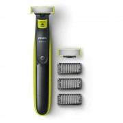 Електрическа самобръсначка за сухо и мокро бръснене, Philips OneBlade (QP2520/30)