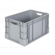 Industriebehälter Inhalt 60 l, LxBxH 600 x 400 x 320 mm, VE 3 Stk grau