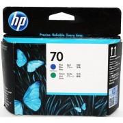 HP 70 - C9408A cabezal azul / verde