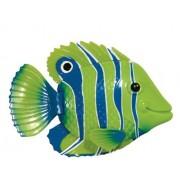 SwimWays Rainbow Reef Mini Fish Green/Blue/White by