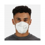 Adults' Particle Filtering FFP2 PPE Face Mask 50 Pack White