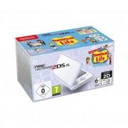 Nintendo New 2DS XL Bianco Viola con Gioco Tomodachi Life