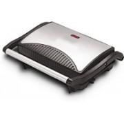 Utility Mini Press Griller Grill(Silver, Black)