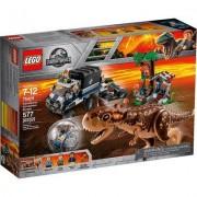 Lego Jurassic World Carnotaurus - Flucht in der Gyrosphere