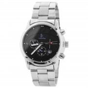 IK Colouring Ultra Moderne Silberfarbene Armbanduhr