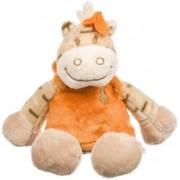 Doudou Noukies Noukie's Zamba Le Zebre Zebra 15cms Robe Orange