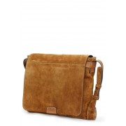 Frye Chris Suede Messenger Bag SAND