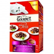 Gourmet mon petit duo vlees kattenvoer