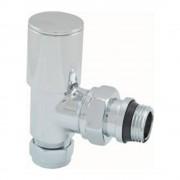 "Aqua Splash Radiatorventiel 1/2""X15 (M22) Knel Haaks"