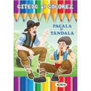 Citesc si colorez Pacala si Tandala