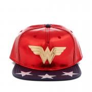 Bio World Gorra DC Comics Wonder Woman - Hombre - Rojo