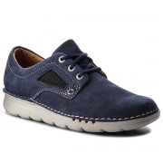 Обувки CLARKS - Unnature Plain 261320347 Navy Nubuck