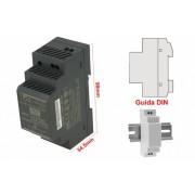 MeanWell HDR-30-24 Trasformatore Rotaia Industriale 24V 36W 1,5A Barra Guida DIN Rail Power Supply Universale