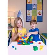 Oviwa Big Bricks Building Brick Set | 100% Compatible with All Major Large Brick Brands