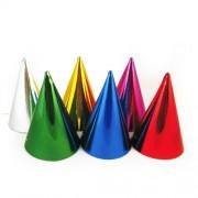 Papierové farebné klobúčiky [6 ks]