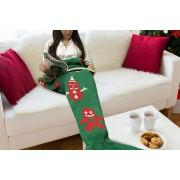 Cheeky Box Ltd Winter Mermaid Blanket in Green