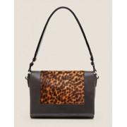 Boden Hellbraun, Leopardenmuster/Schwarz Stamford Variable Tasche Damen Boden, Eine Größe, Black