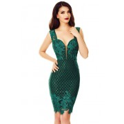Ophelia Dress-verde