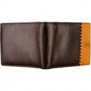 Tamanna Men Brown Tan Genuine Leather Wallet (1 Card Slot)